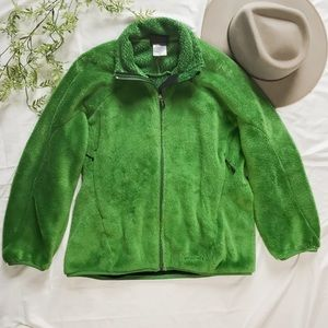 Patagonia Zip Up Green Fleece Jacket